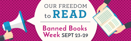 Log in to view our Banned Books Week list